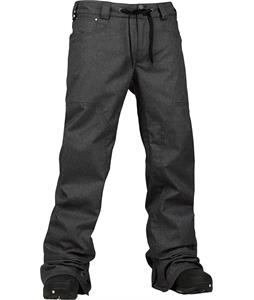Burton TWC Greenlight Snowboard Pants True Black Denim