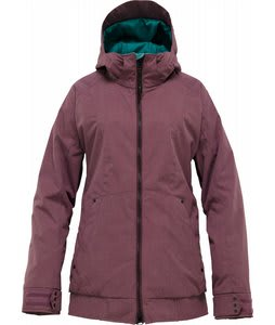 Burton TWC Hot Tottie Snowboard Jacket Iron Violet