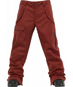 Burton TWC Indecent Exposure Snowboard Pants Biking Red