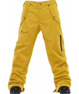 Burton TWC Indecent Exposure Snowboard Pants Sulpher