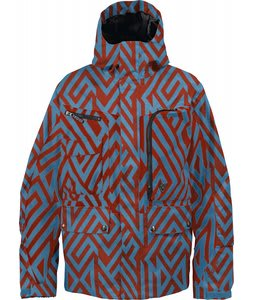 Burton TWC Indecent Exposure Snowboard Jacket Argon Diamond