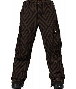 Burton TWC Indecent Xposure Snowboard Pants Havana Diamond