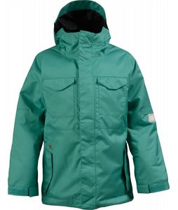 Burton TWC Transmission Snowboard Jacket See Green
