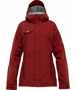 Burton TWC Man Eater Snowboard Jacket Biking Red