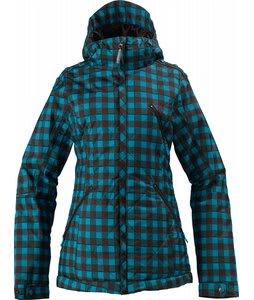 Burton TWC Man Eater Snowboard Jacket Argon Plaid Print