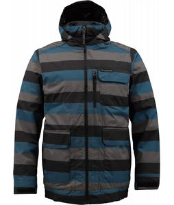 Burton TWC Prizefighter Snowboard Jacket Meltwater Stripe