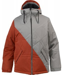 Burton TWC Pufalufagus Snowboard Jacket Hydrant/Iron Grey