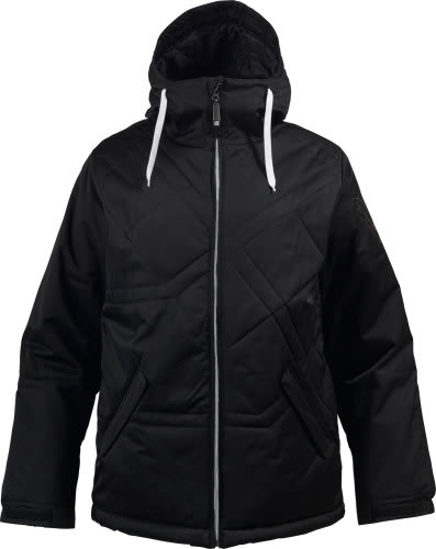 Burton TWC Puffaluffagus Snowboard Jacket True Black