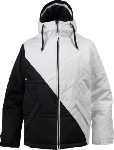 Burton TWC Puffaluffagus Snowboard Jacket True Black/White