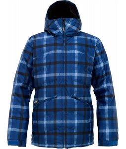 Burton TWC Puffaluffagus Snowboard Jacket Mascot Texture Plaid