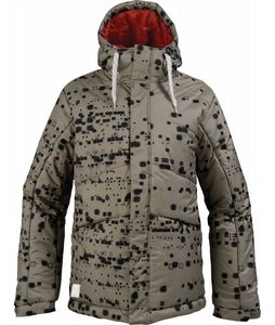 Burton TWC Puffy Snowboard Jacket Atmosphere Haze