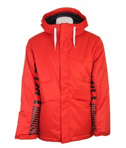 Burton TWC Puffy Snowboard Jacket Factory Red