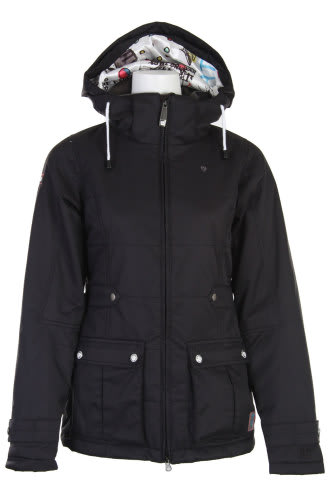 Burton TWC Puffy Snowboard Jacket True Black