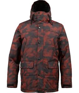 Burton TWC Shackleton Snowboard Jacket Burner Jungle Dot Camo