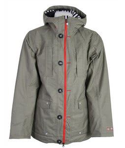 Burton TWC Signature Trench Snowboard Jacket Haze