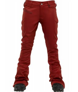 Burton TWC Skinny Mini Snowboard Pants Biking Red