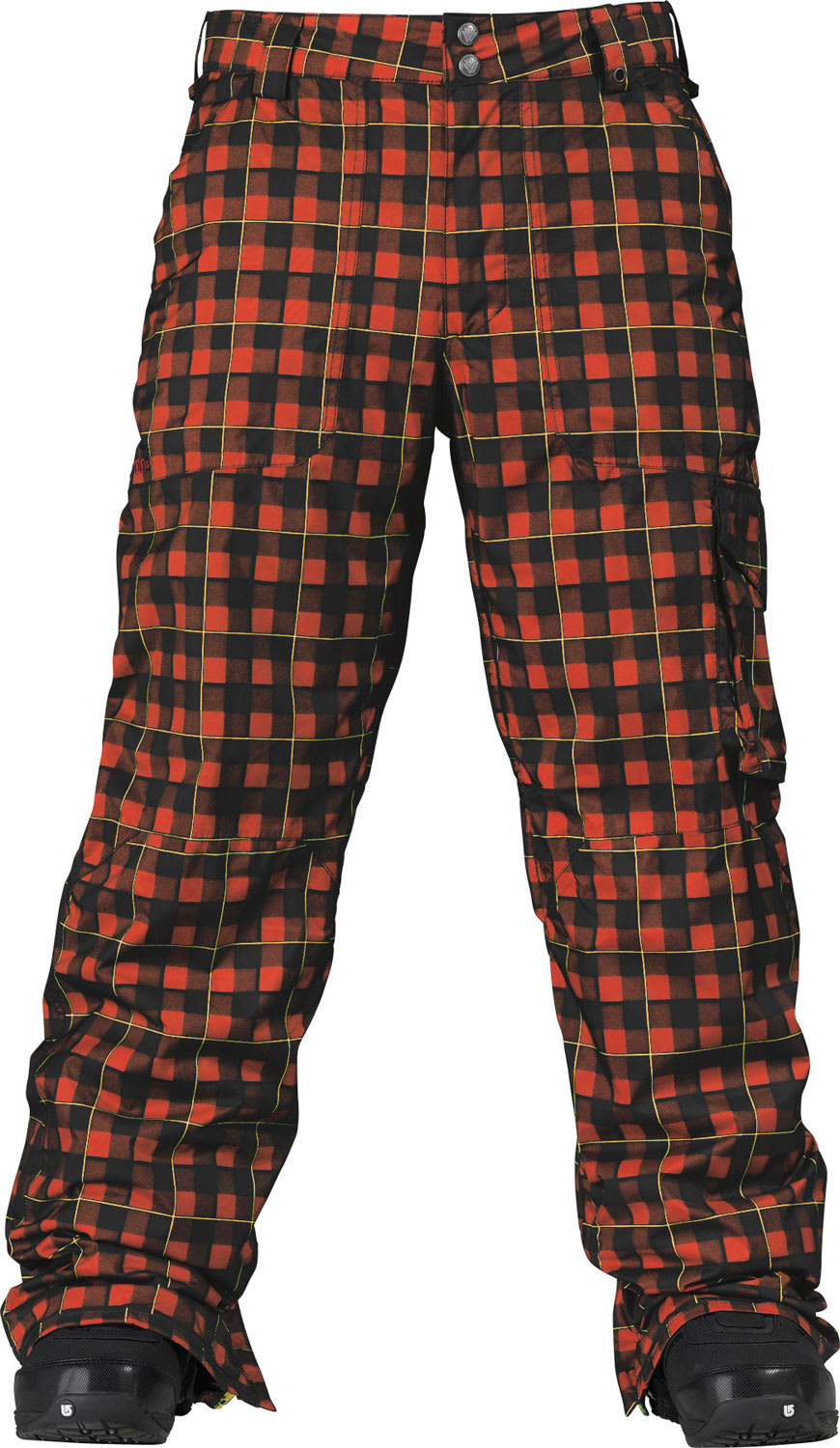Shop for Burton TWC Smuggler Snowboard Pant Black/Kingdom - Men's