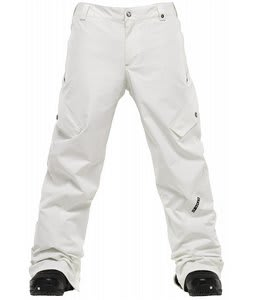 Burton TWC Smuggler Snowboard Pants Stout White