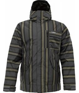 Burton TWC Such A Deal Snowboard Jacket Flint Stripe