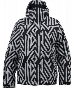 Burton TWC Such A Deal Snowboard Jacket White/Diamond