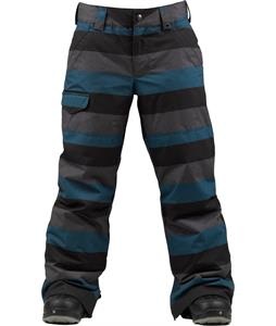 Burton TWC Throttle Snowboard Pants Meltwater Stripe