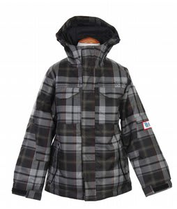 Burton TWC Transmission Snowboard Jacket Echo Man Plaid