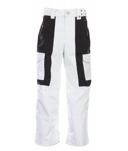 Burton TWC Transmission Snowboard Pants Bright White