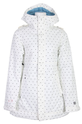 Burton TWC Weekend Snowboard Jacket Wht Just Off A Dot