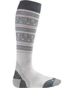 Burton Ultralight Wool Socks Bright White