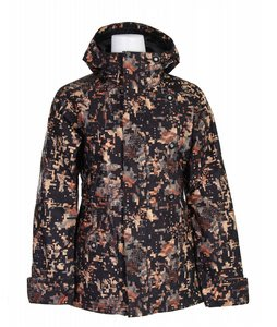 Burton Unity Snowboard Jacket Digi Floral True Black