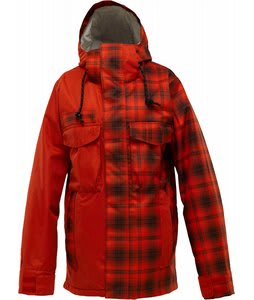 Burton Uptown Snowboard Jacket Risque Burnout Plaid/Risque