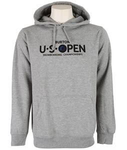 Burton USO Logo Pullover Hoodie Heather Grey