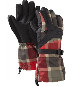 Burton Vent Gloves Keef Revolt Plaid