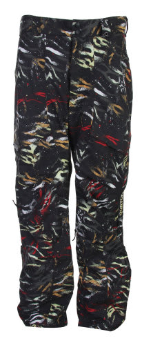 Burton Vent Snowboard Pants True Black Fruity Tiger Print