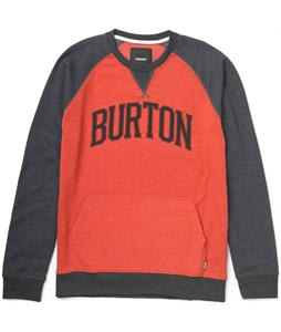 Burton Warm Up Crew Sweatshirt True Black