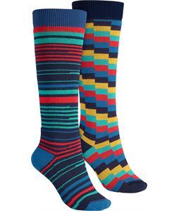 Burton Week End Two-Pack Socks Scout