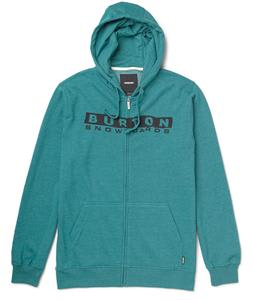 Burton Welcome Home Full Zip Hoodie Heather Tidal Bore