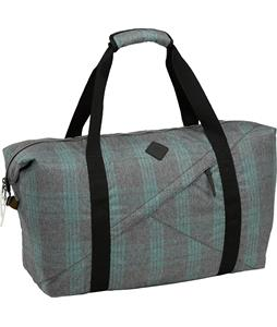 Burton Westrick Duffel Bag Misty Tidal Plaid 39L