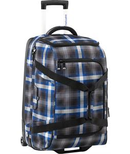 Burton Wheelie Cargo Travel Bag Cobalt Springer Plaid 63L