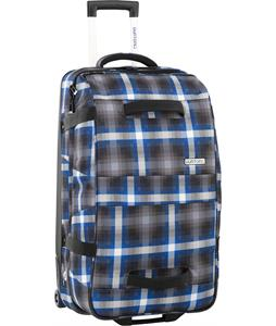 Burton Wheelie Double Deck Travel Bag Cobalt Springer Plaid