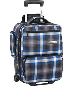 Burton Wheelie Flyer Travel Bag Cobalt Springer Plaid 25L