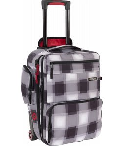Burton Wheelie Flyer Travel Bag True Black Bobber Plaid