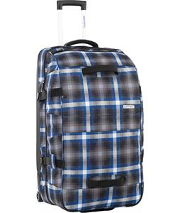 Burton Wheelie Sub Travel Bag Cobalt Springer Plaid 121L