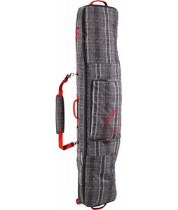 Burton Wheelie Gig Snowboard Bag Tattered Plaid 166cm
