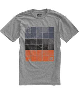 Burton Woodblocks T-Shirt Heather Grey