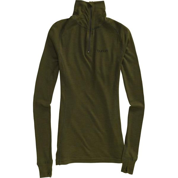 Burton Wool 1/4 Zip Baselayer Top
