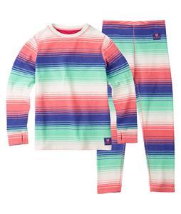 Burton Youth Fleece Baselayer Set Blanket Stripe