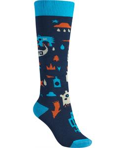 Burton Youth Party Socks Jungle