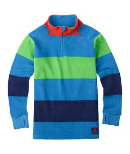 Burton Youth 1/4 Zip Fleece Mascot Pop Stripe