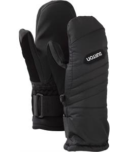 Burton Youth Support Mittens True Black